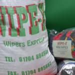 Bags of Wipers in Burscough